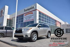 2015 Toyota Highlander 4WD Limited LOW MILEAGE-TOYOTA CERTIFIED!