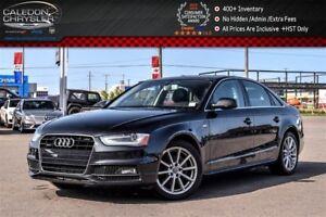 2016 Audi A4 Progressiv plus|Quattro|Nav|Sunroof|Leather|Backup