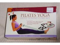 Golden Earth Pilates Yoga Triple Toning Cord Kit, Including Workout DVD, Histon