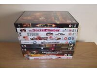 10 DVD,S Including The Social Climber And Storm