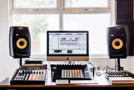East London, Hackney Wick Music Studio Available to Rent £40 for 6hr/Full day or evening Sessions!