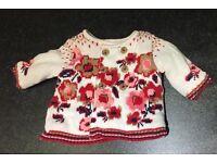 TU brand Baby Cardigan 0-3 months. Hardly used