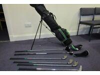 Golf Clubs (Young Gun 1/2 set) Left Handed.