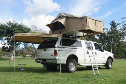 SHERPA ROOF TOP TENT + BATWING 270 DEGREE AWNING + WALLS COMBO