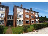 Northolt - Large 1 bed ground floor flat, ex-la, separate kitchen, communal gardens, gas c/h.