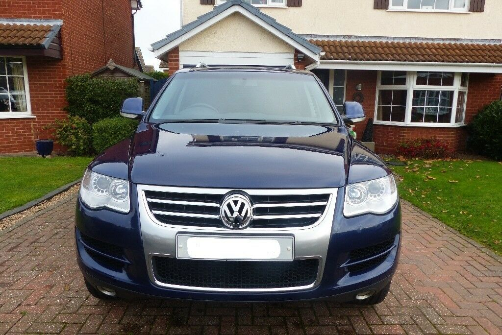 2008 Vw Volkswagen Touareg 3 0ltr V6 Tdi Sel Automatic High Spec 4x4 Suv