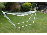 Metal frame hammock