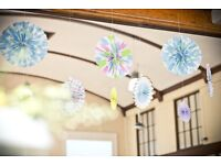 Pinwheel wedding/party decorations