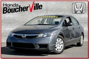2009 Honda Civic DX-A Climatiseur seulement 80474 km