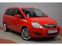 VAUXHALL ZAFIRA 1.7 CDTI DESIGN ECOFLEX 7 Seater MPV 108 BHP (red) 2011