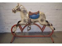 vintage rocking horse (DELIVERY AVAILABLE)