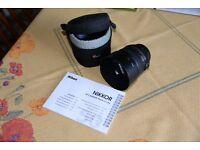 Nikon AF-S NIKKOR 50mm f1.4 G Lens