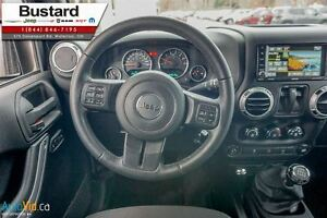 2015 Jeep Wrangler Sahara/MANUAL/ NAVIGATION/  HARDTOP Kitchener / Waterloo Kitchener Area image 11