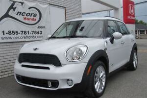 2012 MINI Cooper S Countryman Base/JAMAIS ACCIDENTÉ/