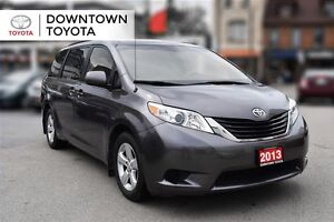 2013 Toyota Sienna LE FWD, 1 OWNER, POWER SLIDING DRS