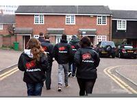 Touring Door to Door Fudraiser £252-306p/w plus bonuses - no experience necessary