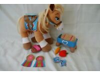 Build A Bear Horse with accessories