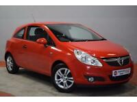 VAUXHALL CORSA 1.2 ENERGY 3d 83 BHP (red) 2010