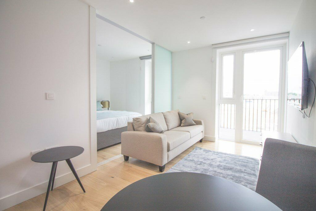 LUXURY BRAND NEW 1 BED LONDON DOCK ARIEL HOUSE E1W WAPPING TOWER BRIDGE ALDGATE CITY TOWER BRIDGE