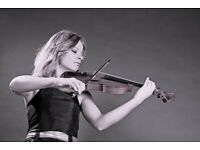Classical/Electric Violinist available for weddings,parties,events etc