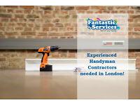 Handyman Contractors Required in London -- Immediate Start -- Flexible Schedule