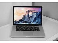"i7 Quad Core Apple MacBook Pro 15"" Laptop 2.2Ghz 16GB RAM 500GB HDD - VectorWorks Microsoft Office"