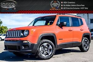 2016 Jeep Renegade New Car Sport|4x4|Backup Cam|Bluetooth|R-Star