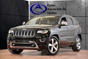 2015 Jeep Grand Cherokee Overland 4X4 CUIR TOIT PANO NAV 261$/2S