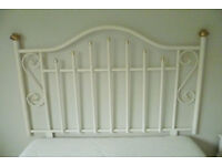 Victorian style double bed head