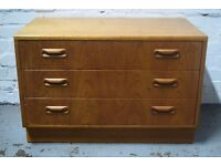 G-plan chest of drawers (DELIVERY AVAILABLE)