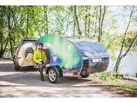 Custom teardrop trailer for travel