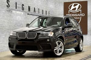2014 BMW X3 xDrive35i M PACKAGE CUIR TOIT OUVRANT MAGS