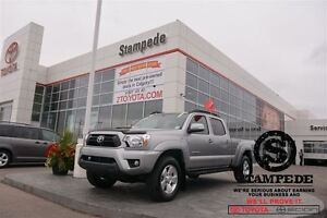 2015 Toyota Tacoma V6 Dbl Cab TRD SPORT w/Leather and Navigation