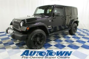 2012 Jeep WRANGLER UNLIMITED Sahara 4X4/ACCIDENT FREE/ XD/HD AFT