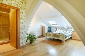 Unbelievable 2 double bedroom church conversion with 2 bathrooms and parking for 2 CARS, must view!
