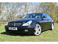 Very nice Mercedes CLS 500 with many extra options for sale.
