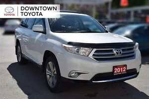 2012 Toyota Highlander SPORT AWD, LEATHER, SUNROOF, ALLOYS