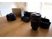 Nikon D7100 + Battergrip + 17-55 2.8 G ED + Wifi