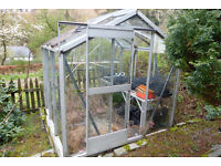 Aluminium Framed Greenhouse
