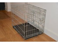 Pet Cage. Base 60 x 45cm. Height 47cm. Suitable for cat or small dog.