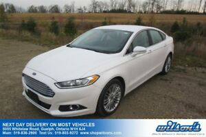 2013 Ford Fusion SE LEATHER! NAVIGATION! REAR CAMERA+SENSORS! HE