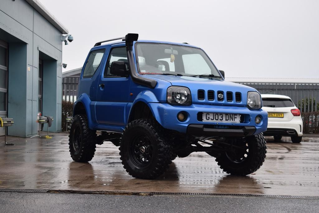 suzuki jimny 1 3 jlx off roader in bath somerset gumtree. Black Bedroom Furniture Sets. Home Design Ideas