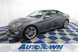 2015 Hyundai Genesis Coupe 3.8 GT/LOCAL/CLEAN HIST/NAV/LEATHER/R