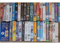 Assorted VHS Tapes - 35+ original tapes, Music, Comedy, Films, Documentary, Jazz, Disney
