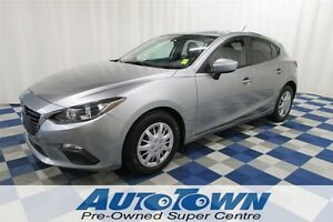2014 Mazda MAZDA3 SPORT GX-SKY/KEYLESS ENTRY/USB OUTLET/LOW KM