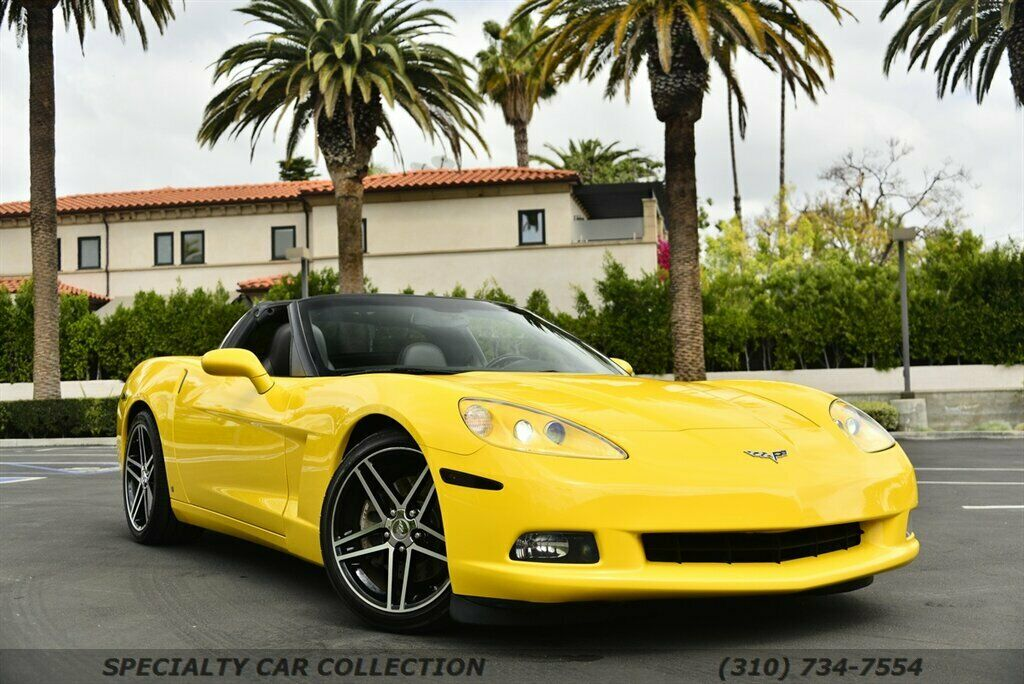2006 Yellow Chevrolet Corvette  3LT | C6 Corvette Photo 8