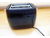 Compact, 2-slice toaster (lightly used)