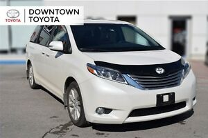 2017 Toyota Sienna XLE LMITED, 1 OWNER, NAVI, DVD, RECLINE SEAT