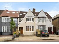 SPACIOUS 4 BEDROOM HOUSE, PARTLY FURNISHED, 75FT GARDEN OFF STREET PARKING AVAILABLE SEPTEMBER