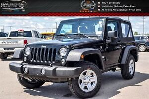 2017 Jeep Wrangler New Car Sport|4x4|Soft Top|Air condition|Temp